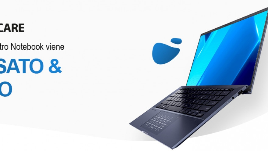ASUS lancia in Italia ASUS ZenCare per riparazioni gratuite e rimborsi sui nuovi notebook