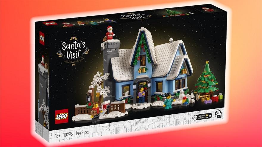 LEGO è già in clima natalizio: arriva il set La visita di Babbo Natale!
