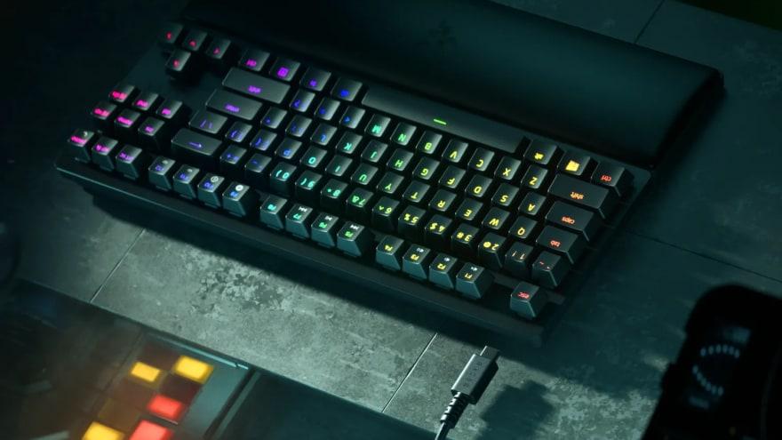 """Le nuove tastiere meccaniche di Razer offrono una latenza di input """"vicina allo zero"""""""