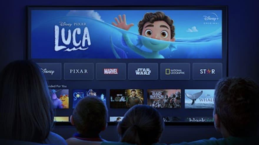 Disney+ fa la sua entrata sui TV Panasonic