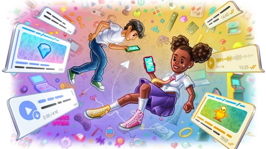 Un nuovo aggiornamento per Telegram: temi delle chat, conferme di lettura nei gruppi e molto altro