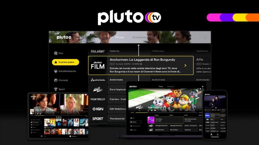 In arrivo una nuova piattaforma di streaming: Pluto TV sbarcherà in Italia a fine ottobre