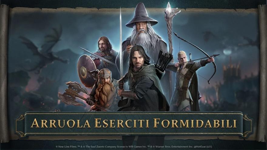 The Lord of the Rings: War arriva ufficialmente su Android e iOS