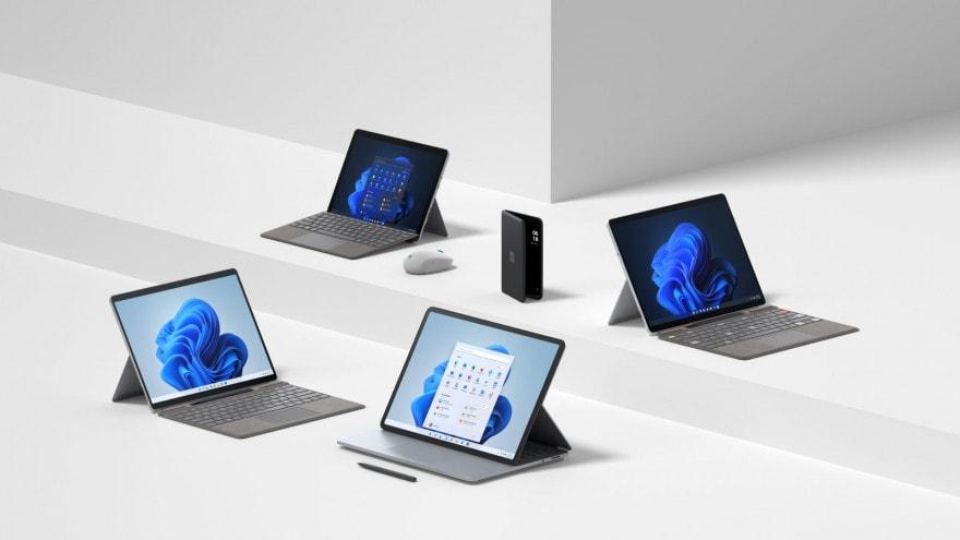 Surface Pro 8 e Laptop Studio in Italia solo ad inizio 2022