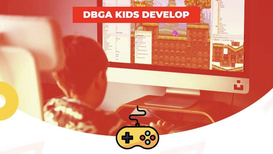 Ritornano i DBGA KIDS, i corsi di sviluppo dei videogiochi per bambini