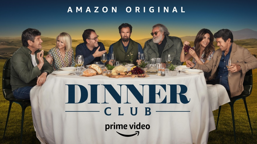 Il viaggio tra i sapori in Dinner Club ha inizio oggi su Prime Video
