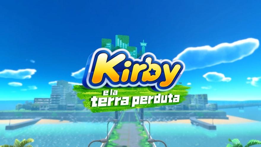 Kirby si prepara a tornare su Switch: annunciato Kirby e la terra perduta