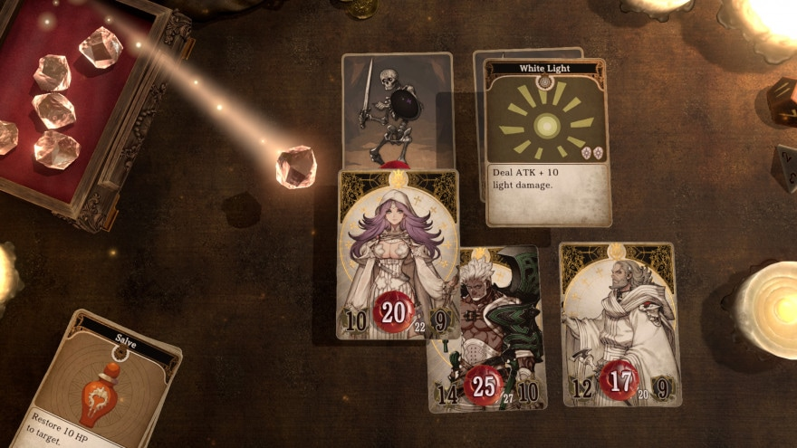 Voice of Cards: The Isle Dragon Roars, data di uscita per il nuovo gioco di Square Enix