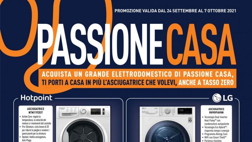 """Volantino Unieuro """"Passione Casa"""" fino al 7 ottobre: sconti per Galaxy A52s, Smart TV e notebook"""