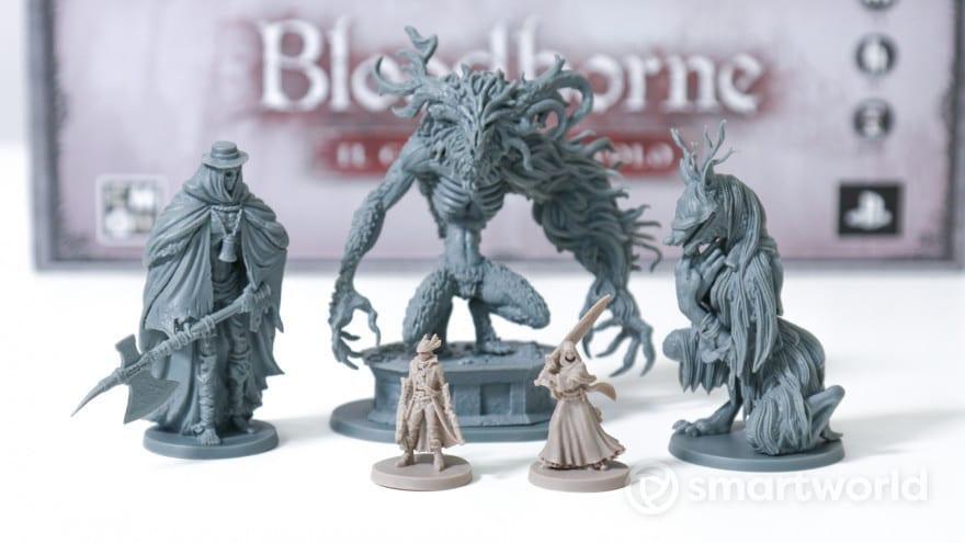 Recensione Bloodborne, il gioco da tavolo: difficile quanto il videogioco?