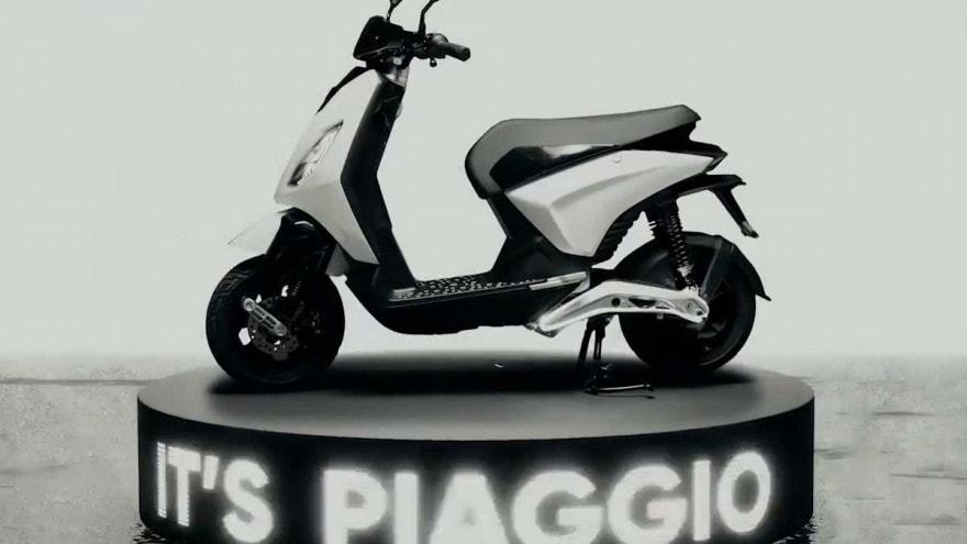 Piaggio 1, arriva lo scooter che ricarichi come uno smartphone