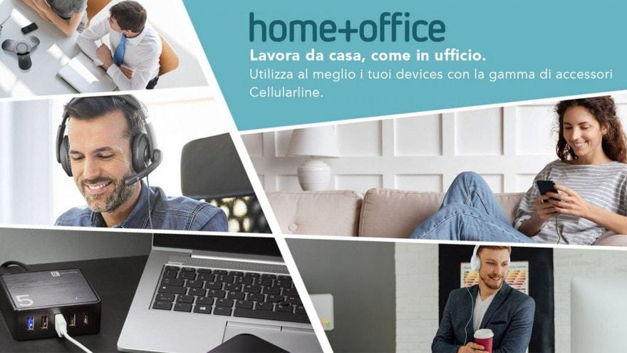 Cellularline lancia Home + Office, nuova linea per smartworking e ufficio