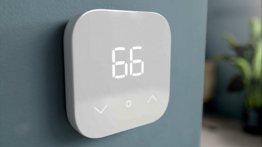Amazon lancia il suo termostato da 50€