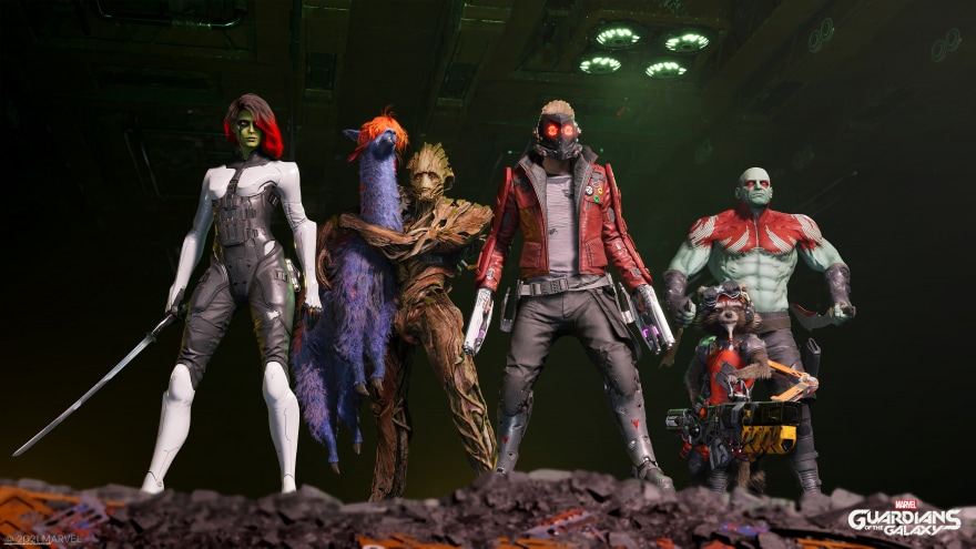 Marvel's Guardians of the Galaxy sarà davvero bellissimo su PC