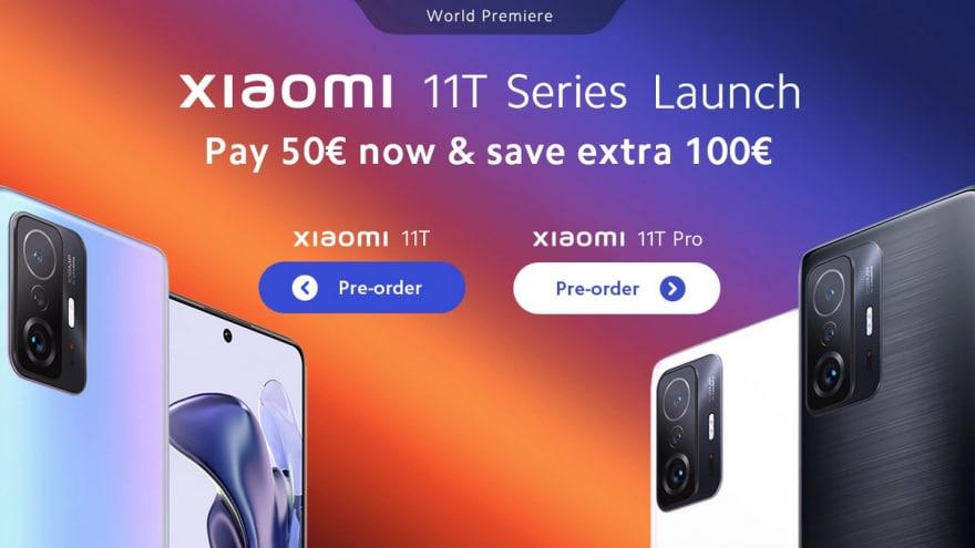 Xiaomi 11T e 11T Pro a prezzi Bomba da Goboo: sconto extra di 100€ solo oggi!