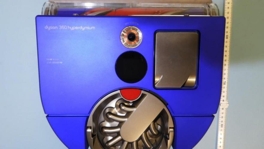 Questo scatolotto blu è il prossimo robot aspirapolvere di Dyson