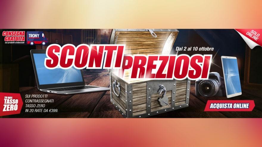 """Offerte Trony """"Sconti Preziosi"""" fino al 10 ottobre: cosa conviene comprare?"""