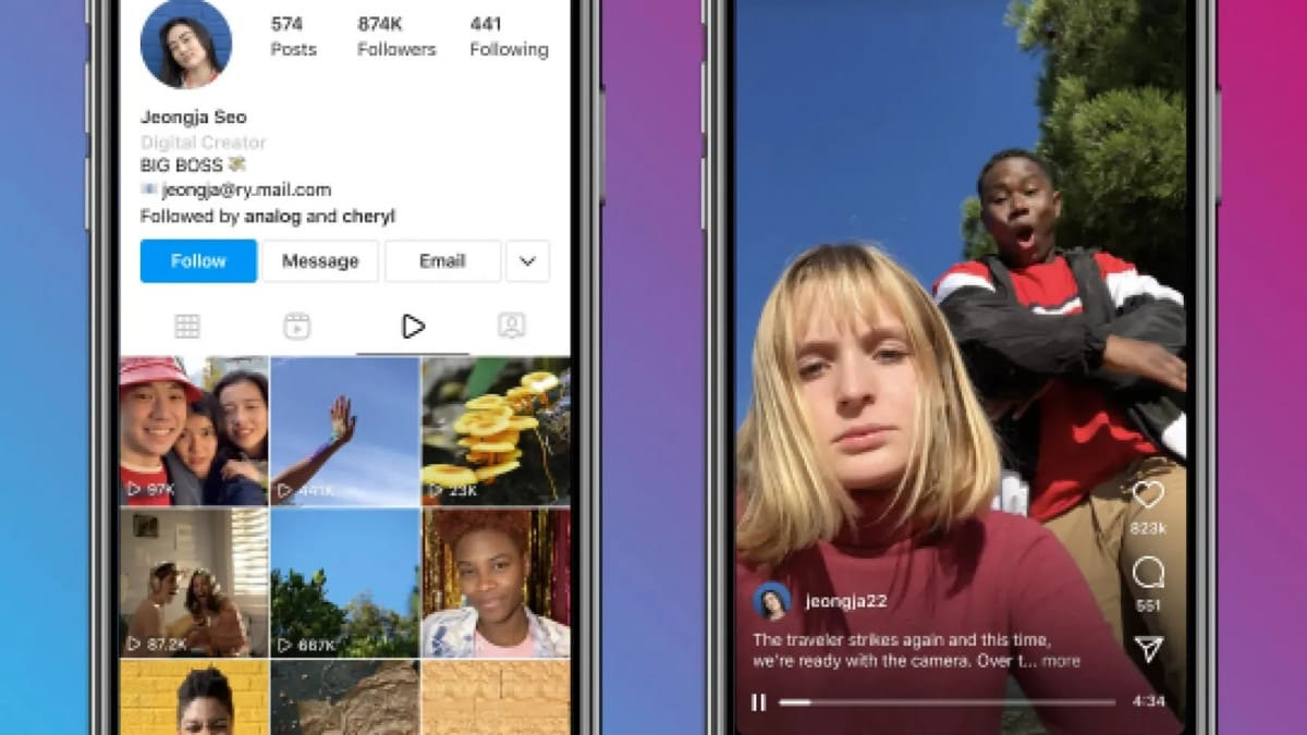 Instagram smantella IGTV