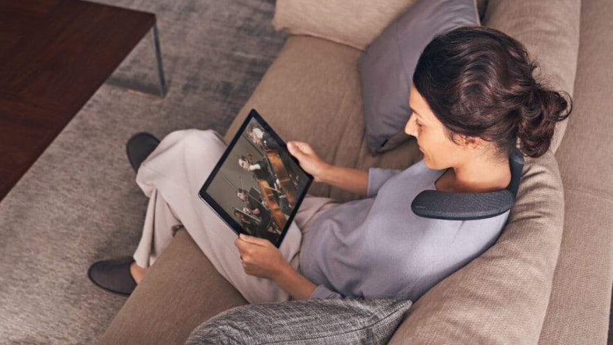 Sony presenta il cuscino musicale: come farsi avvolgere da film e musica