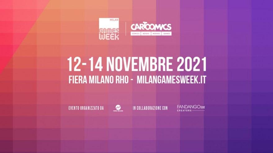 L'unico grande evento Milan Games Week e Cartoomics apre oggi la vendita dei biglietti