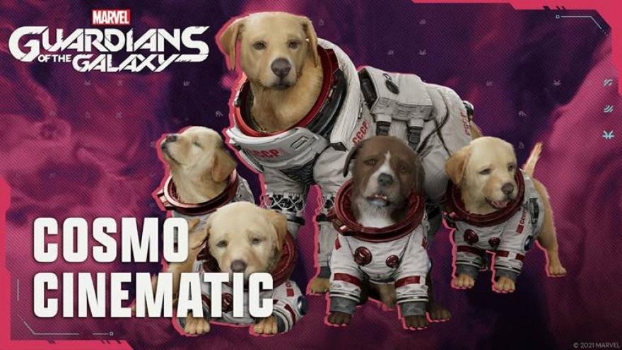 Marvel's Guardians of the Galaxy, il nuovo trailer ci presenta il cane spaziale Cosmo