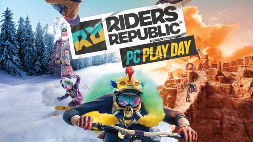 Potrete provare Riders Republic con Ubisoft Connect PC il 12 ottobre