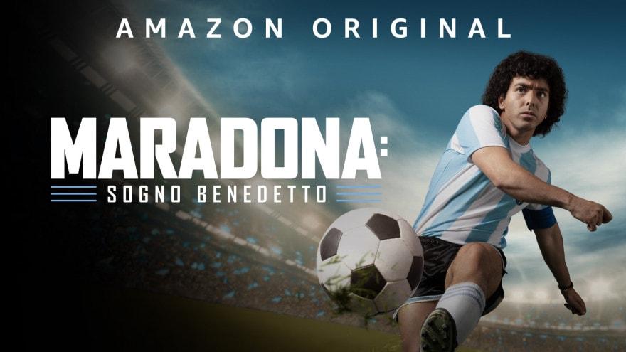 """Guardate il trailer di Maradona: Sogno Benedetto, la serie biopic sul """"pibe de oro"""" in arrivo su Prime Video"""