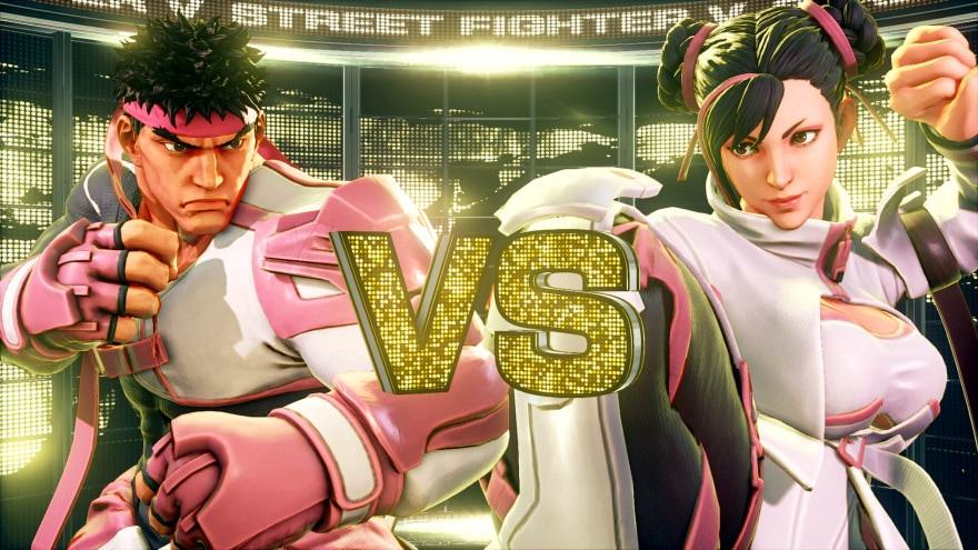 Street Fighter V: nuovi costumi in arrivo per sostenere la ricerca sul cancro al seno