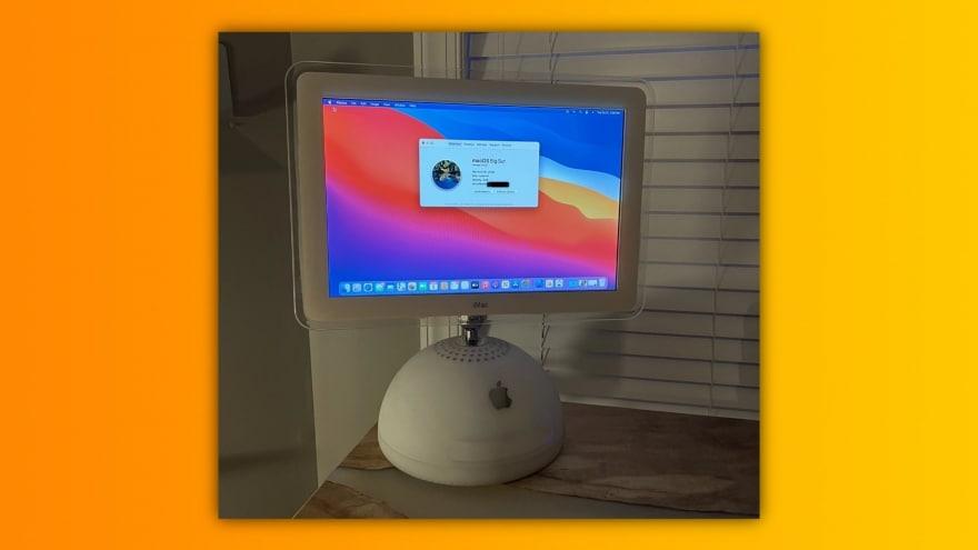 Apple M1 nel corpo di un iMac G4? Ecco la grande impresa realizzata da un fan