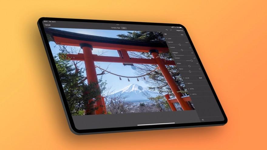 Modificare i file Camera Raw con Photoshop su iPad? Ora si può!