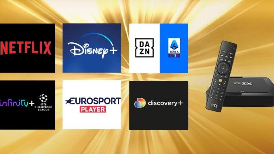 TIMVision Gold include il calcio e tutto lo streaming, e regala 3 mesi di fibra a chi lo attiva