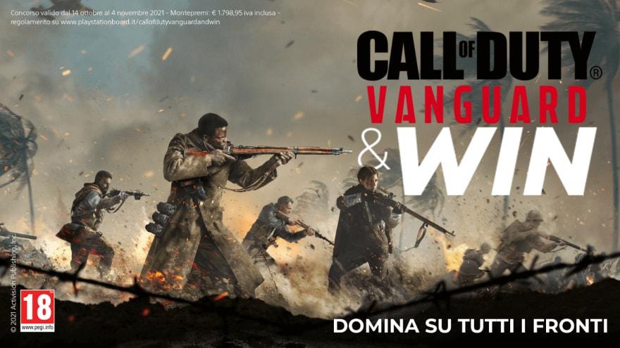 Call of Duty Vanguard: provate a vincere un TV Sony e molto altro con il pre-ordine del gioco