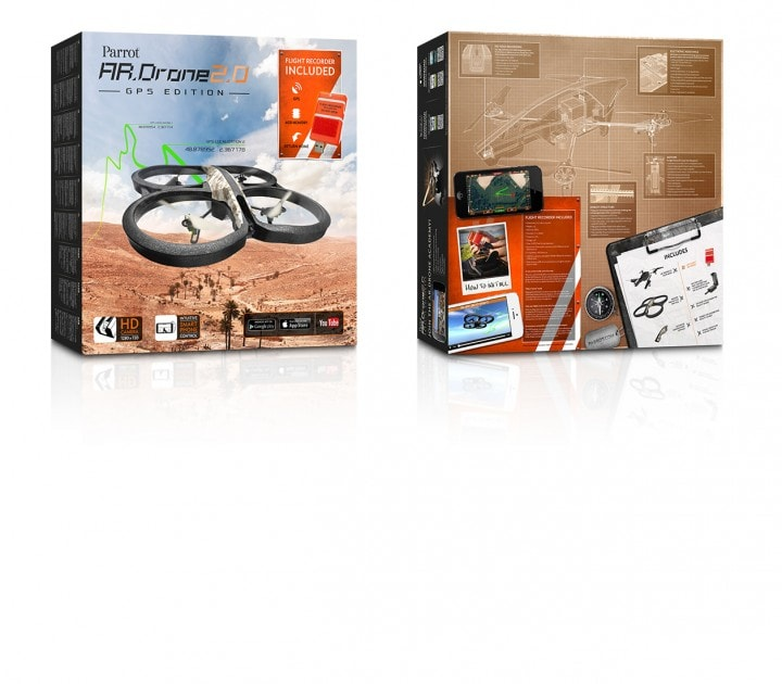 Parrot_ARDrone 2_GPS_Edition_Pack