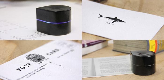 Pocket Printer, la stampante che si muove sul foglio