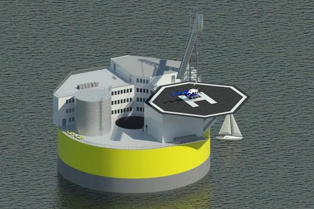 La centrale nucleare galleggiante a prova di tsunami