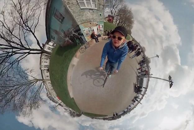 Ci vogliono sei GoPro per creare un mondo in miniatura (video)