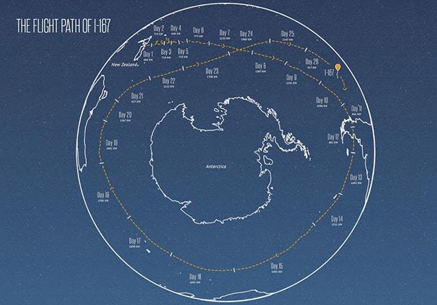 Project Loon, la mongolfiera di Google che fa il giro del mondo in 22 giorni