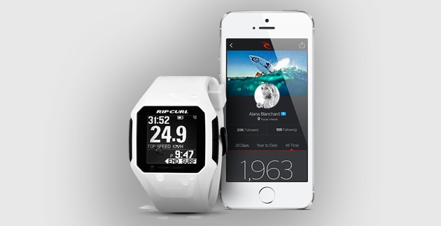SearchGPS, lo smartwatch per surfisti