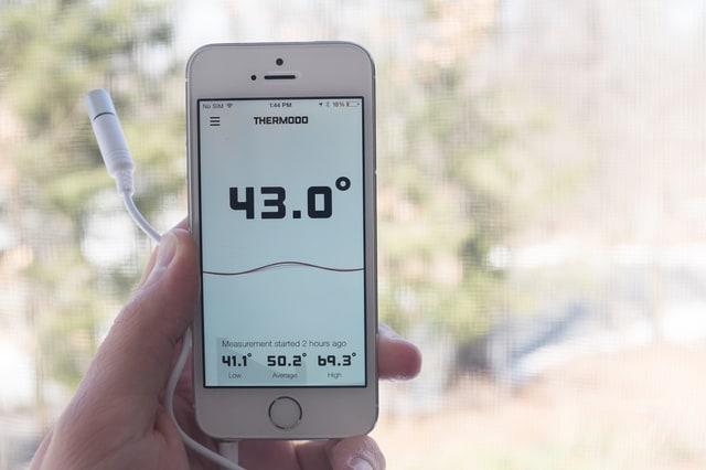 Thermodo, il termometro per il tuo smartphone