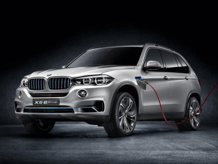 BMW X5 eDrive Concept: il prototipo del SUV ibrido (foto)