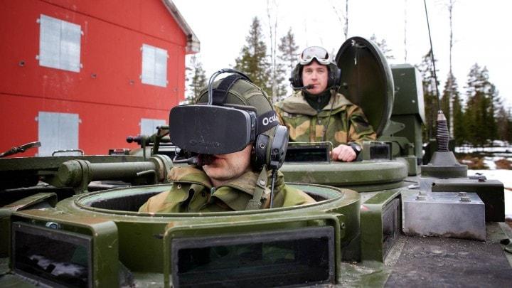Forze armate oculus rift