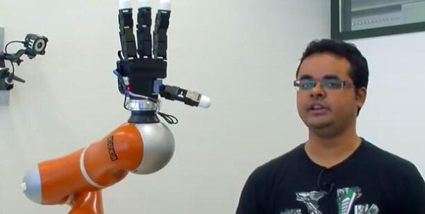 Il braccio bionico coi super riflessi