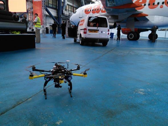 droni easyjet