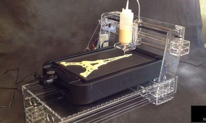PancakeBot, la stampante 3D per pancake (video)