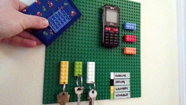 usi del lego organizer chiavi