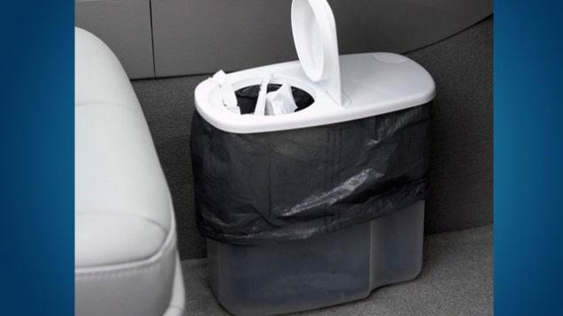 Organizzare auto cestino