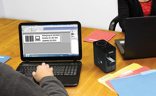 Brother lancia la stampante wireless per le etichette