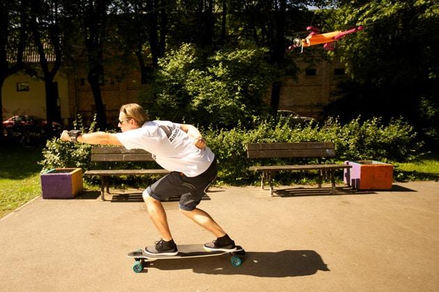 Airdog, il drone che vi segue mentre fate sport