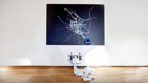 Il robot che crea mappe per collocare le piste ciclabili