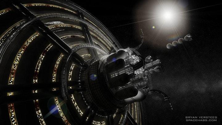 Come sarebbe una città spaziale nella vita reale (foto e video)